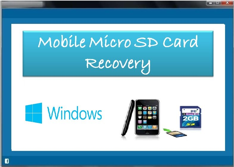 Tool for Mobile Micro SD Card Recovery